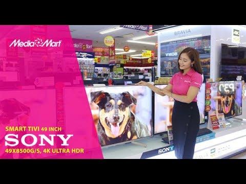 Smart Tivi 4K 49 inch Sony 49X8500G/S – Tinh tế trên từng điểm ảnh