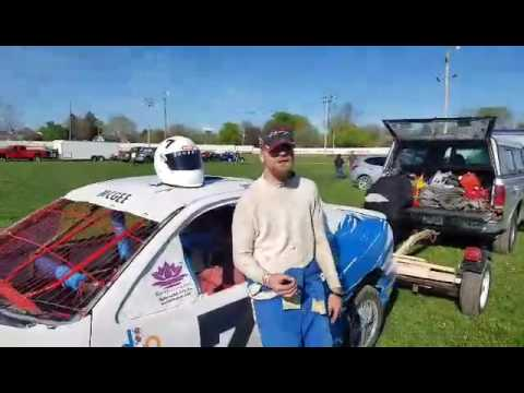 West Liberty Raceway pre race talk and shout outs 4/22/17
