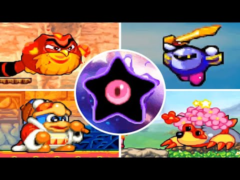 Kirby Squeak Squad - All Bosses