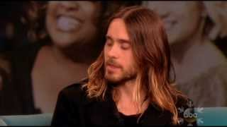 Repeat youtube video Jared Leto Full Interview on The View 12.4.2013