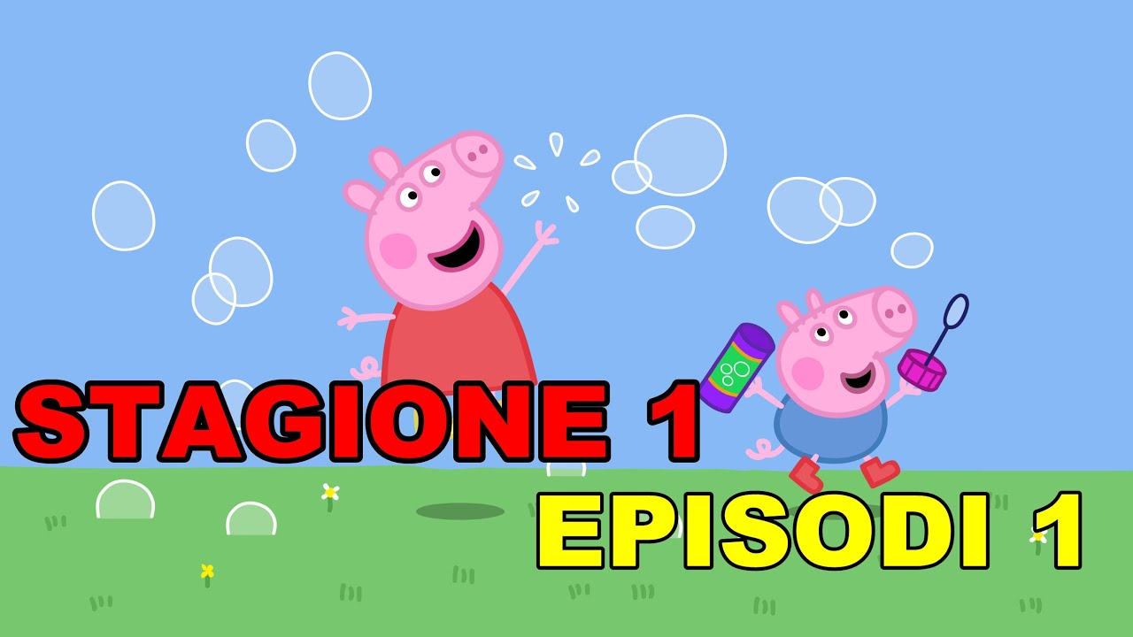 Peppa pig stagione episodi in italiano youtube