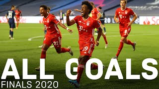 All FC Bayern Goals in the Finals 2020