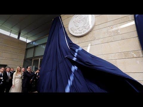 Ivanka Trump officially opens US embassy in Jerusalem