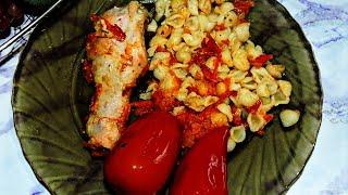 Куриные голени с макаронами запеченные в духовке Готовим голени с макаронами #рецепты