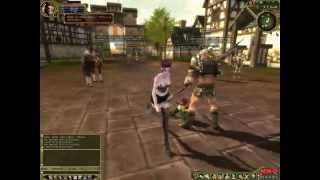 Last Chaos gameplay city tour - MMO Reviews HD