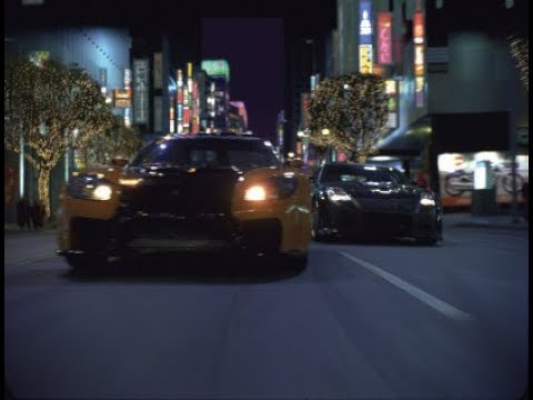 THE FAST AND THE FURIOUS TOKYO DRIFT PS2 HAN VS DK