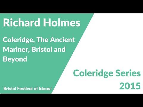 Coleridge Lectures 2015: Richard Holmes