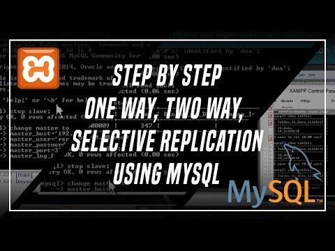 Tutorial Database Replication Using MySQL