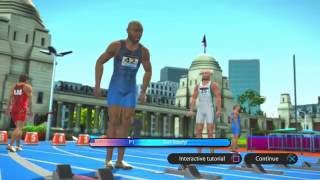 Track and Field 100m Sprint Summer Stars 2012