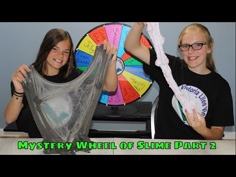 Mystery Wheel of Slime Part 2!!!  // Victoria_Lilee Vids