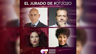 El nuevo jurado de Operación Triunfo 2020