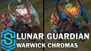 Lunar Guardian Warwick Chroma Skins