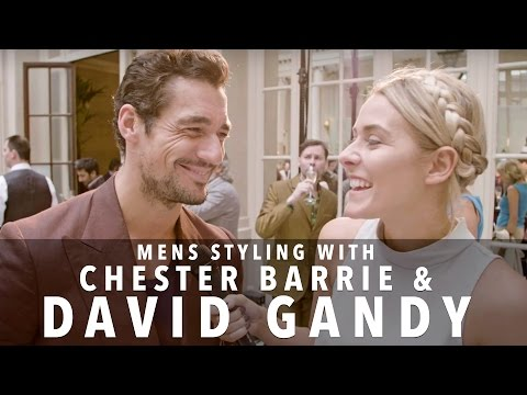 David Gandy's Styling Tips  Chester Barrie  FASHCAST