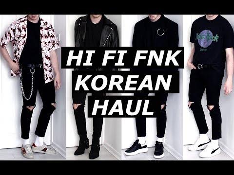 HI FI FNK | Korean Clothing Haul  | Seoul, Blogger, Monochrome, Lookbook, Minimalism | Gallucks