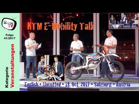 KTM E-Mobility Talk | Austria | Oct. 2017