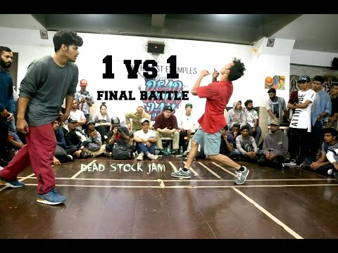 Bboy Abdul Vs Bboy Kini | Final | Solo | DeadStockJam| 2017 | India
