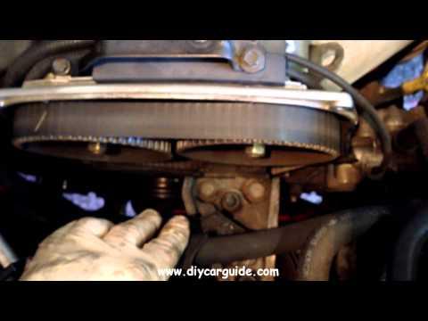 Hyundai Santa Fe 2.0 Petrol, Timing Belt Kit Replacement. Part 1 of 3.