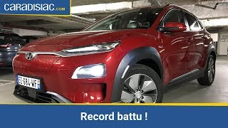La Hyundai Kona EV jusqu'à la panne : plus forte que Tesla !