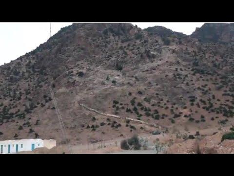 تقرير خاص- إنفجار بركاني بجبل طرزة  حقيقة ام خيال ؟