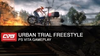 Urban Trial Freestyle PS Vita Gameplay