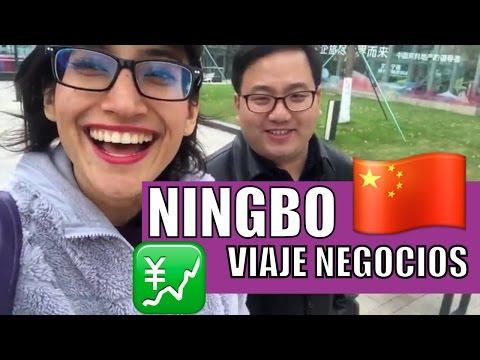 NINGBO CHINA CIUDAD INDUSTRIAL Y PUERTO IMPORTANTE VIAJE DE NEGOCIOS MARCARIB