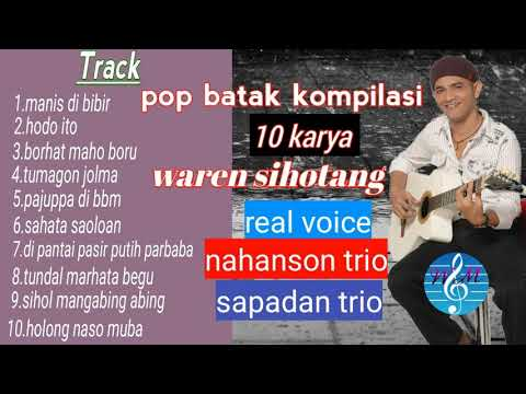 10 Karya Waren Sihotang Album Pop Batak Romantis (official)