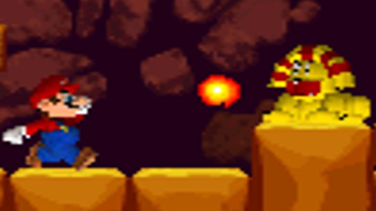 Sarasaland Advance Demo - World 1 Playthrough (New Super Mario Bros  DS  Rom-Hack)