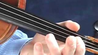 VIOLIN LESSONS FOR THE BEGINNER - HOW TO PLAY AMAZING GRACE WITH VIBRATO!