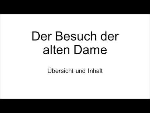Friedrich Dürrenmatt: Der Besuch der alten Dame - Übersicht und Inhalt (Zusammenfassung)