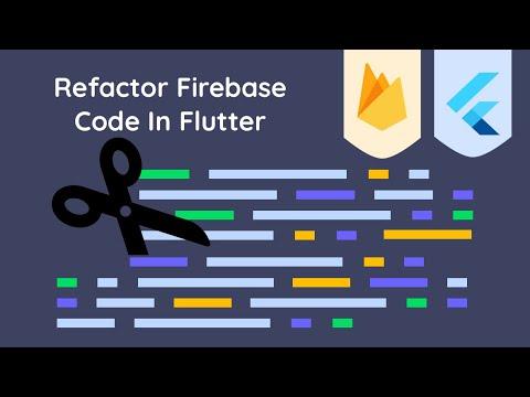 Refactor Firebase Code In Flutter Using A Service Class