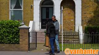 One of VanBanter's most viewed videos: Shouting Prank In The Hood (KNIFE PULLED)