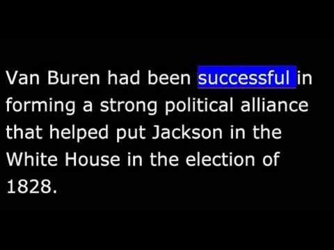 American History - Part 061 - Martin Van Buren - Bank Crisis