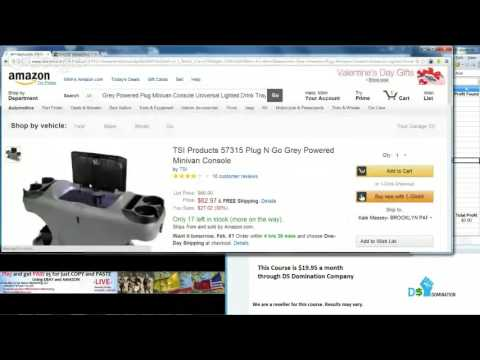 Sell Products  on Ebay ,Amazon Copy , Paste   Drop Shipping  Course