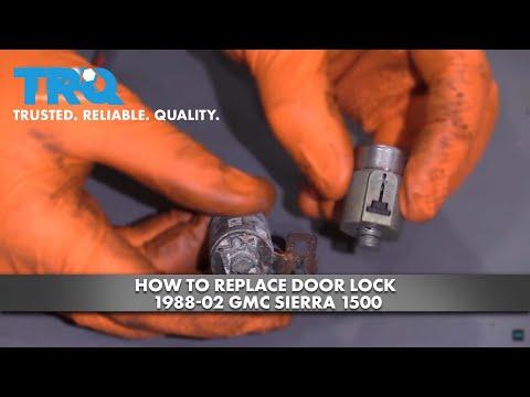 How to Replace Door Lock 1988-2002 GMC Sierra 1500