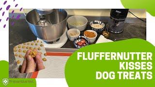 Fluffernutter Kisses Dog Treat Recipe