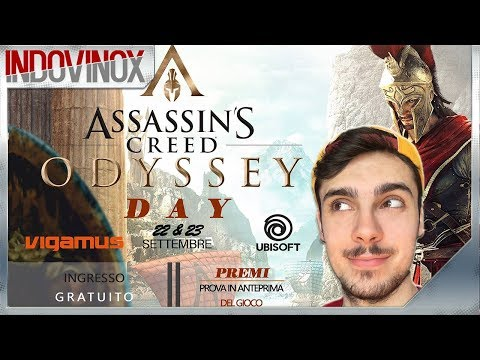 Come Giocare Ad Assassin's Creed Odyssey In ANTEPRIMA In ITALIA! #AssassinsCreedOdysseyDay - Vigamus thumbnail
