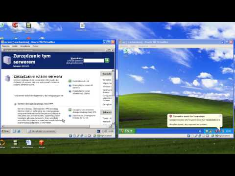 Windows Server 2003 R2 Instalacja ActiveDirectory