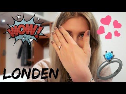 Eerste dag als VERLOOFDE 💕 💍 Londen Vlog #3   Sarah Rebecca