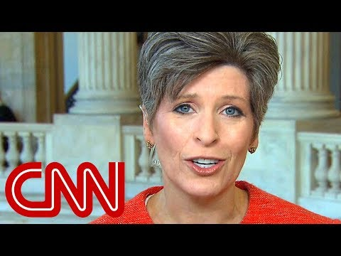Sen. Ernst 'extremely disappointed' by Porter allegations
