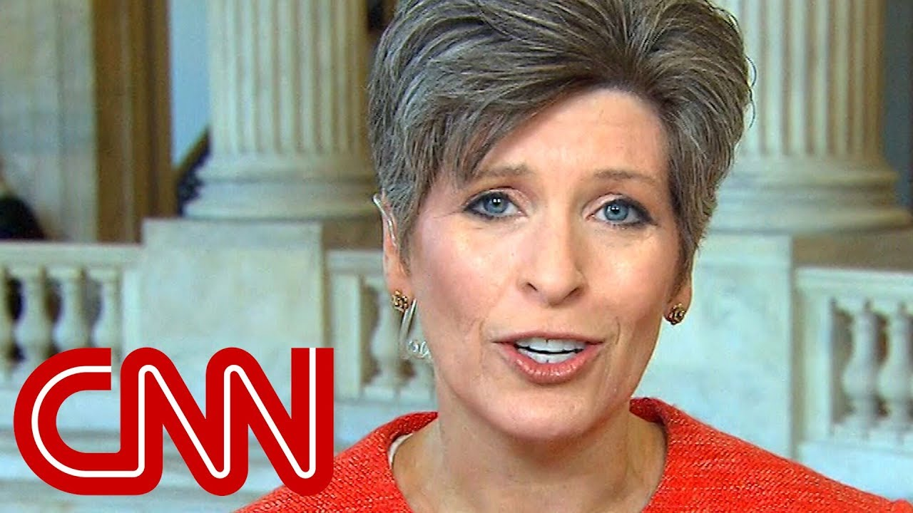 Sen. Ernst 'extremely disappointed' by Porter allegations #1