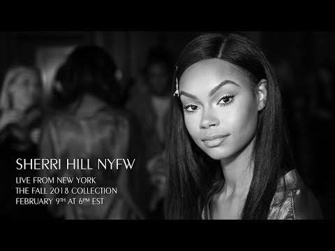 Sherri Hill Feb 2018 Runway Show Live