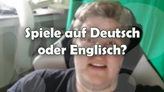 Spiele auf Deutsch oder Englisch spielen?  🎮 Frag PietSmiet #1266
