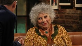 Miriam Margoyles on voicing the Cadbury's Caramel Bunny | The Late Late Show | RTÉ One