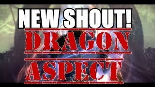 Skyrim: Dragon Aspect New Shout Word Locations and Demonstration (Skyrim: Dragonborn DLC Gameplay)