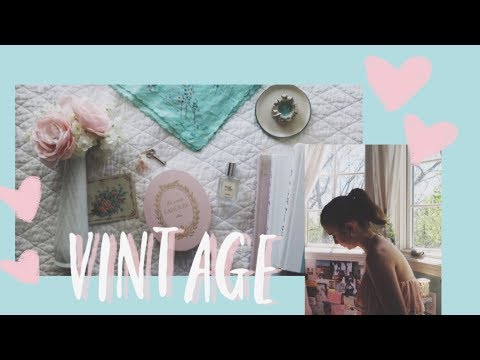 Decorating My Room for Summer *VINTAGE AESTHETIC* | Audrey Ann thumbnail
