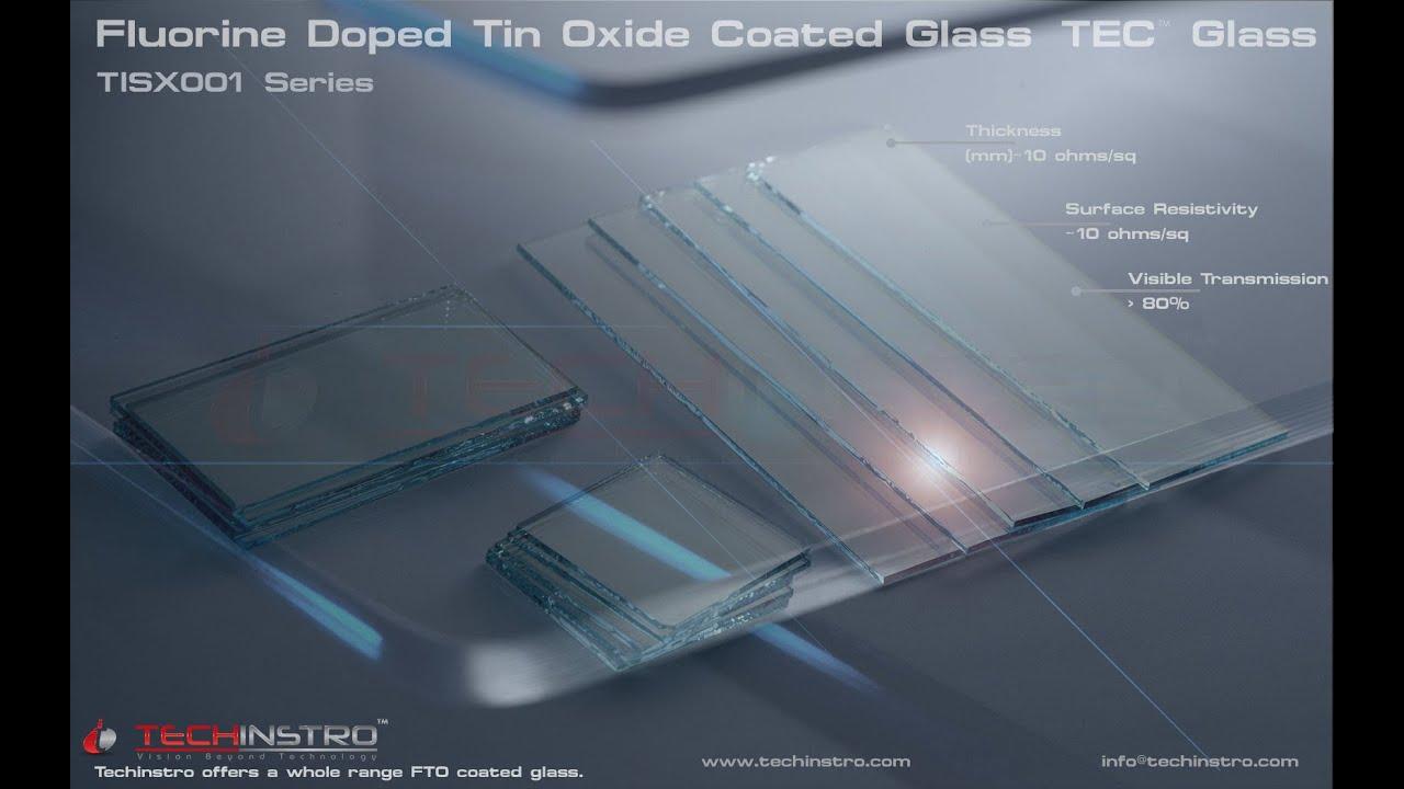 Fluorine doped Tin Oxide Glass SLIDES FTO GLASS TISX003 SERIES  YouTube
