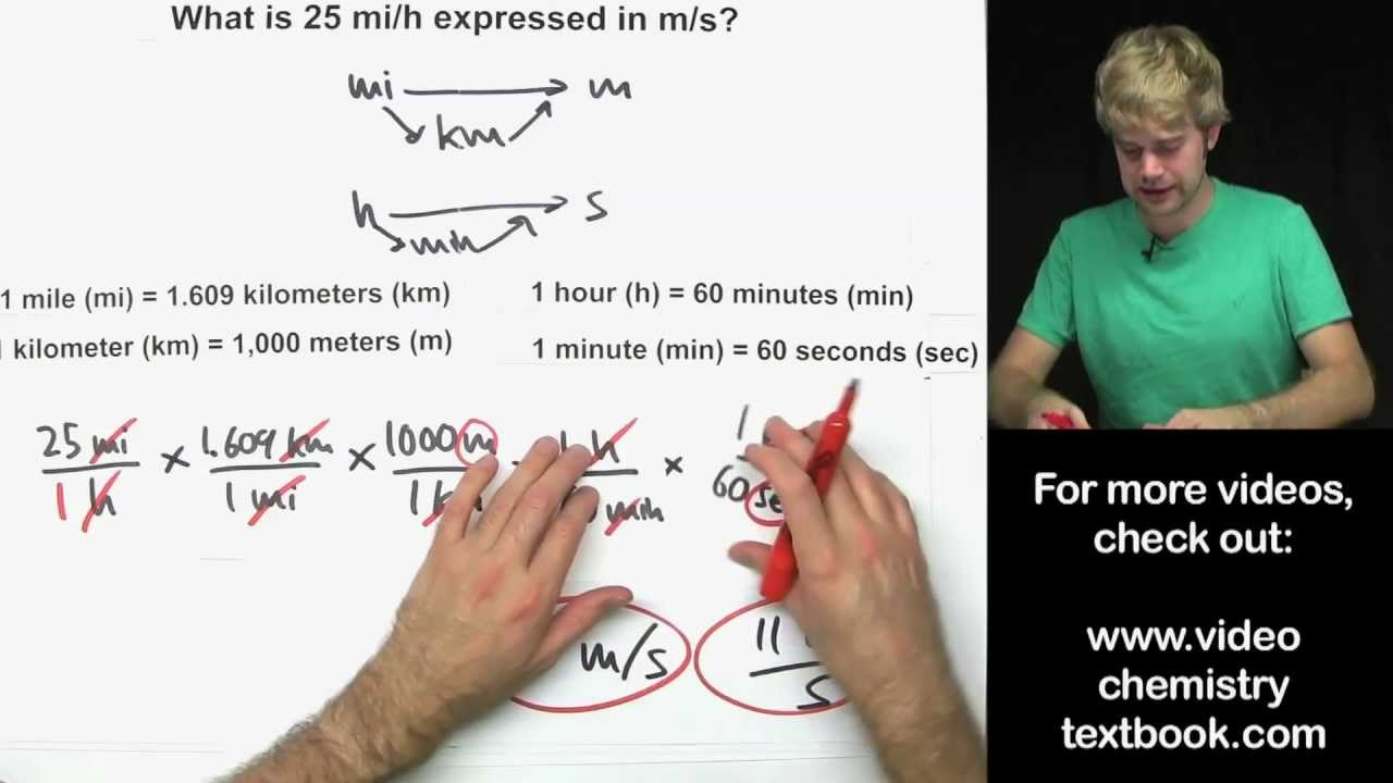 multiple conversion factors part 2 youtube