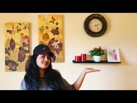 Wall decor ❤| Decorate with me Living room Makeover| Doctor Ruchita