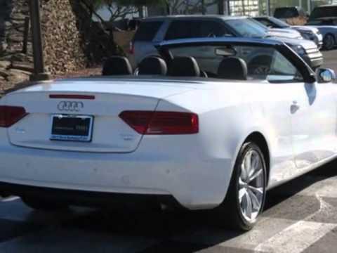 2013 audi a5 2dr cabriolet auto quattro 2 0t premium plus convertible phoenix az youtube. Black Bedroom Furniture Sets. Home Design Ideas