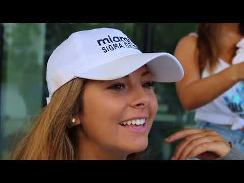 Sigma Delta Tau at the University of Miami Recruitment Video 2018